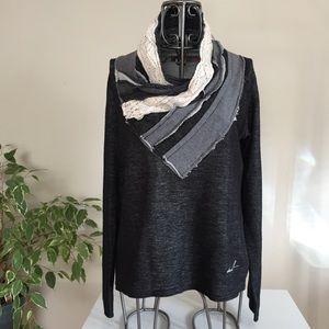 Desigual scarf neckline We Love sweater